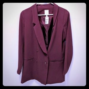 NWT LC Lauren Conrad Long Suit Jacket